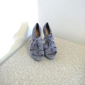Coach Shoes - Coach Teagan  Gray Sandals